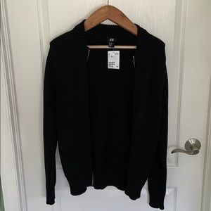 H&M XS Zippered Sweater